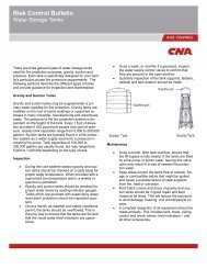 Water Storage Tanks - CNA