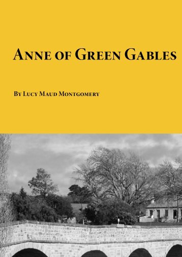 Anne of Green Gables - Planet eBook