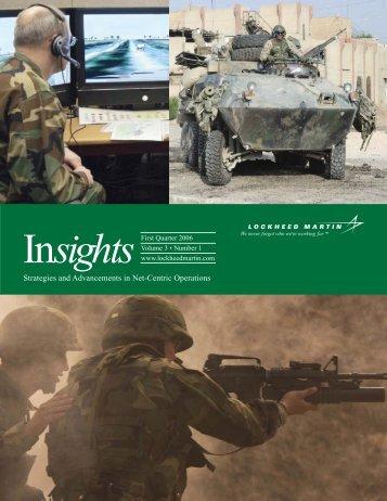 Download pdf version of Sensemaking article (4 MB) - Lockheed ...