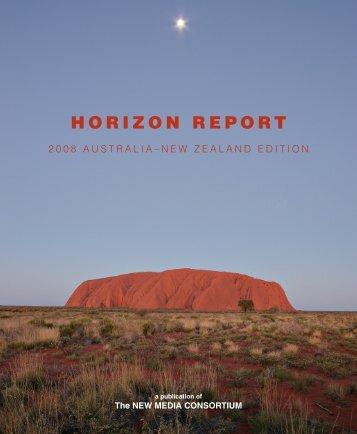 Horizon Report: 2008 Australia - New Media Consortium