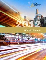 2012 Annual Report to the California Legislature