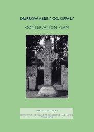 durrow abbey co. offaly conservation plan - Offaly County Council