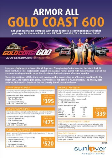 armor all gold coast 600 - Golden Grove Village