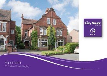 Ellesmere - Lee Shaw Partnership