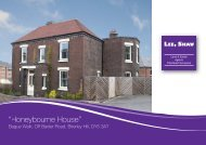 """Honeybourne House"" - Lee Shaw Partnership"