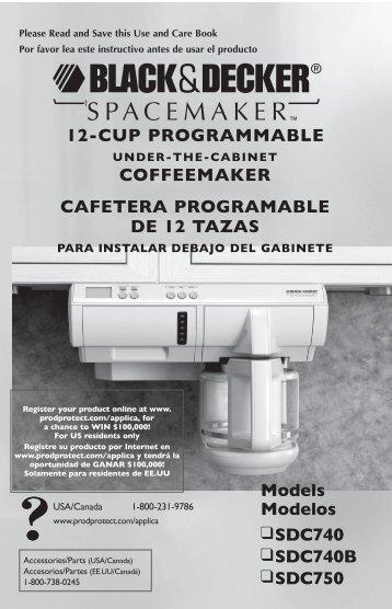 Ge Programmable Coffee Maker Manual : ESPRESSO MAKER CAFETERA EXPRESO - BELLA Appliances