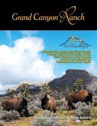 Including Exclusive Buffalo Safaris - Grand Canyon Ranch