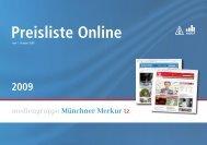 Preisliste Online