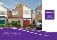 10 Dowells Gardens - Lee Shaw Partnership