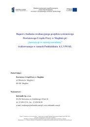 Raport z badania PUP Mogilno - mojregion.eu