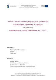 Raport z badania PUP Lipno - mojregion.eu
