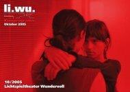 Li.Wu. Programm 2005-09 VS Web.indd - Lichtspieltheater Wundervoll