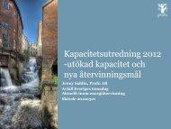 Perspektiv på framtida avfallsbehandling (PFA) - Avfall Sverige