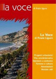 la voce 02.qxp - Comune di Finale Ligure