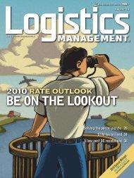 Logistics Management - January 2010