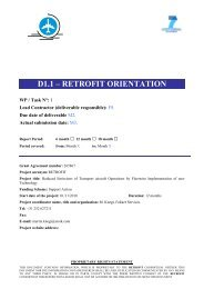 D1.1 - Retrofit Orientation - Fokker Services