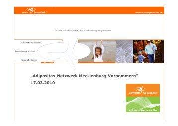 (FH) Sonja Mittelstädt Adipositas-Netzwerk ... - Adipositas MV