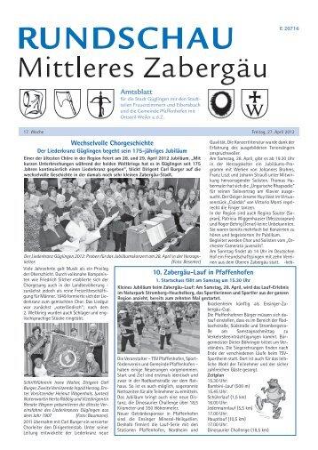 Amtsblatt 2012 KW 17 - Güglingen
