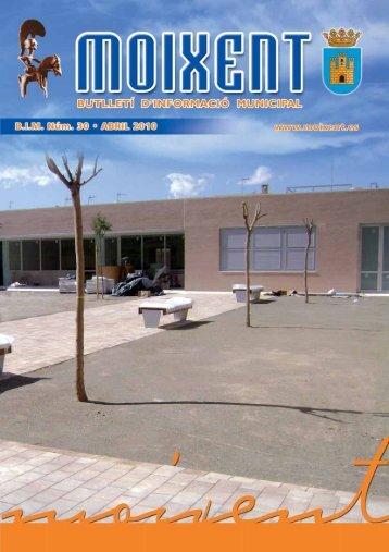 la construcció del centre ocupacional - Moixent
