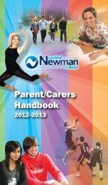 Parent Handbook - Cardinal Newman College