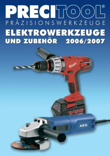 ELEKTROWERKZEUGE ELEKTROWERKZEUGE - G. Walter ...