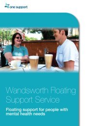 Wandsworth - One Housing Group