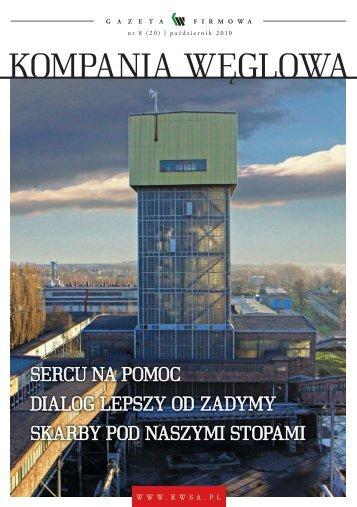 październik 2010 - Kompania Węglowa S.A.