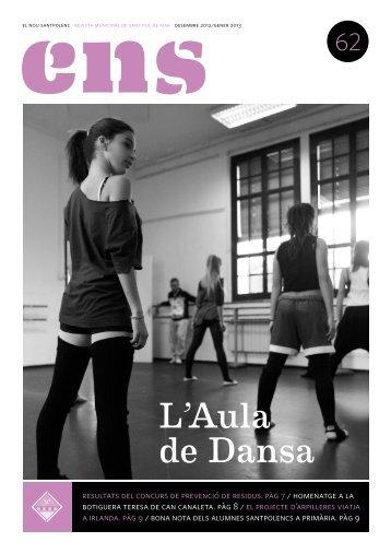 ENS 62 - L'Aula de Dansa - DES 12 PDF - Ajuntament de Sant Pol ...