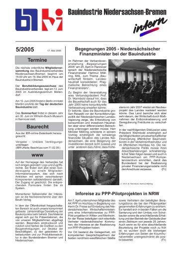 5/2005 - Bauindustrieverband Niedersachsen-Bremen