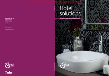 Hotel Solutions Brochure - Barbour Product Search