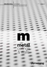 Metal ceilings & Walls - Armstrong Ceilings