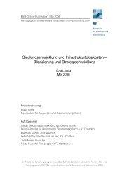 Gesamter Abschlussbericht (3,6 MB) - Planung Gertz Gutsche ...