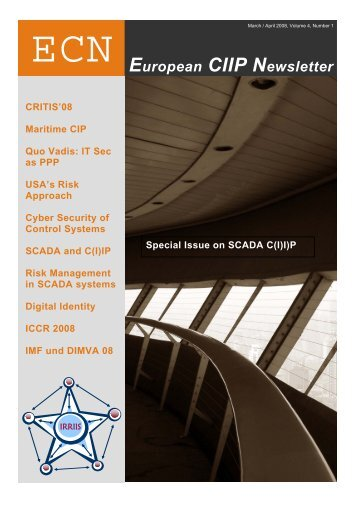 European CIIP Newsletter, Volume 4, Number 1 - IRRIIS