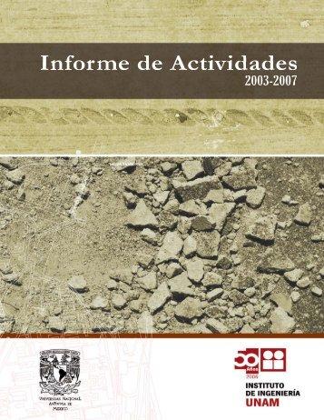 5-2 - Eventos del Instituto de Ingeniería, UNAM