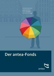 Der antea-Fonds - MMD-Forum.de