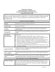 AV-1 Overview and Summary Information - Office of the Deputy ...