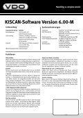 KISCAN-Software Version 6.00-M Handling a complex world. ... - Seite 2