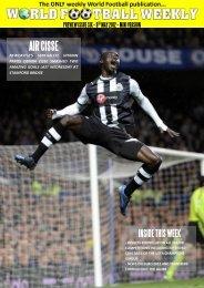 9th May 2012 - WORLD FOOTBALL WEEKLY
