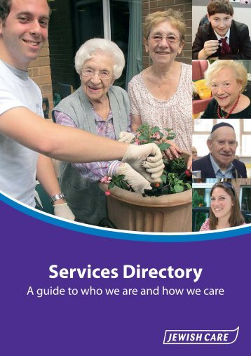 Services Directory - Jewish Care