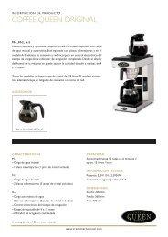 COFFEE QUEEN ORIGINAL - Crem International