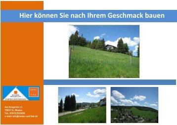 Hier können Sie nach Ihrem Geschmack bauen - Immobilien.de