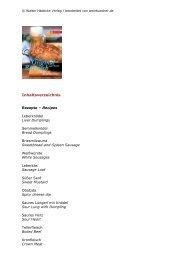 Inhaltsverzeichnis - WEINBUECHER.de
