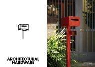 ARCHITECTURAL HARDWARE - Home Ideas Centre