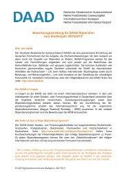PDF-Datei (246 kB) - DAAD-Informationszentrum Budapest