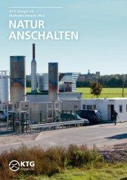 Halbjahresbericht 2012 - KTG Energie AG