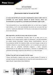 Renovación total en la web de R-M - El Chapista