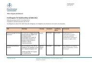 Handlingsplan för likabehandling vid MISU 2013