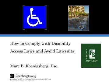How to Comply with Disability Access Laws and Avoid Lawsuits