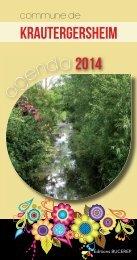 KRAUTERGERSHEIM 2013.indd - Les Agendas des Mairies