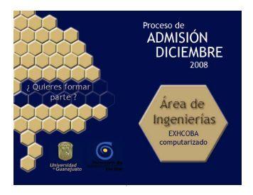 1, 2, 3, 4, 5, 6, 7, 8, 9, 0 - Universidad de Guanajuato
